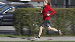 Åsa Bergman hjälper dig att hitta rätt löpteknik.