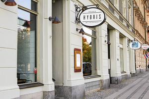 Restaurang Hybris höll öppet i lite över ett år.