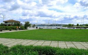 Intill Hamnträdgården kommer det pågå en rekryteringsmässa under fredagen och lördagen.