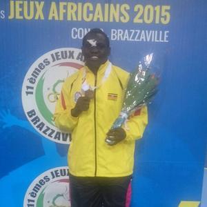 Katende tog hem en bronsmedalj i Afrikanska spelen.