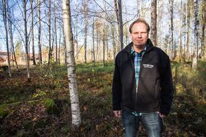 Peter Granqvist, planingenjör på Avesta kommuns plan- och miljöförvaltning tror att bygget vid Balders hage kommer bli bra i framtiden.