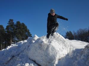 Äntligen en riktig vinter i våra trakter! På sportlovet dessutom! Känns som