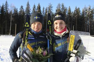 Tove Alexandersson och Magdalena Olsson.