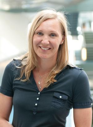 Anna Lagström, ansvarig för Postens distribution.