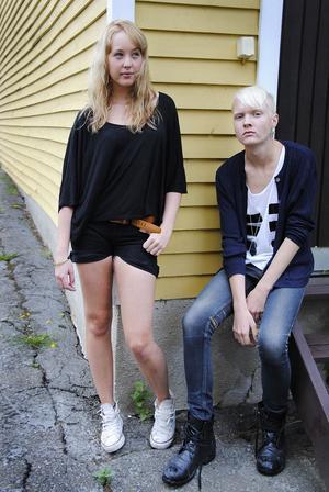 Johanna Engström och Jocke Nyman hoppas på en framtid i modebranschen.