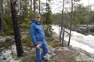 Jonas Gardsiö vid Sognstupet.