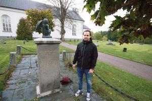 Per Nord, kyrkogårdschef Norberg-Karbennings församling vid Karbennings kyrka