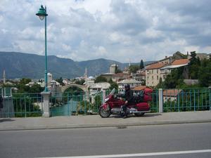 Bron i Moster juli 2009.