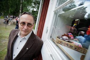 Karl-Arne Zeider, ordförande i Bjuråkers hembygdsförening.