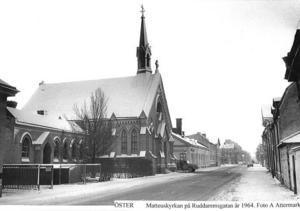 Forna Öster. Matteuskyrkan 1964.
