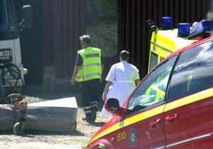 Arbetsolyckor. Borlänge har flest arbetsolyckor i länet. Foto: Börje Gustafson/arkiv