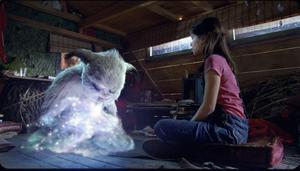 Pia är en ganska sorgsen och ensam tjej, som får lite nytt ljus i tillvaron när yetin Yoko oväntat dyker upp.