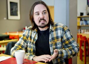 Thomas Melin, Sundsvall, är en av finalisterna i dramatiktävlingen Ny text.