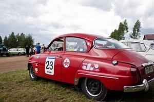 Bilen från filmen Rallybrudar.