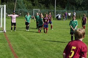 Hörna för Selånger FK:s P11-lag mot Moffe BK.