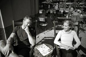 Mattias Ekholm och Ida Björnstad.