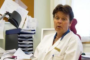 Yvonne Blücher har nu jobbat ett år som verksamhetschef för den hårt kritiserade vårdcentralen i Hallstahammar.
