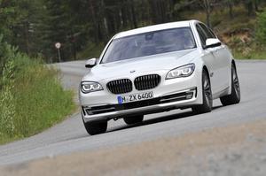 BMW 750d xDrive.   Foto: BMW