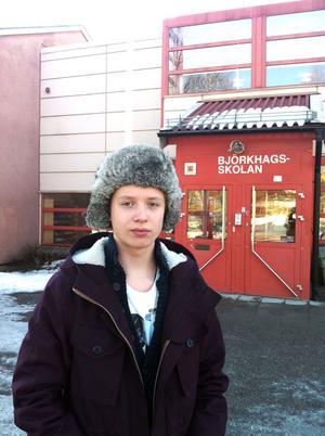 Rasmus Saramaa har startat en Facebookgrupp i syfte att rädda de teoretiska programmen på Björkhagsskolan.
