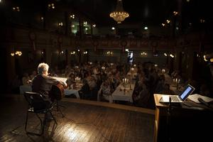 Kör-afterwork på Gamla teatern. Foto: Sandra Charina Lundin