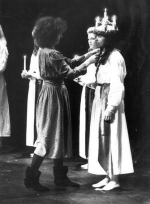 Kröningen sköttes av Therese Juel.