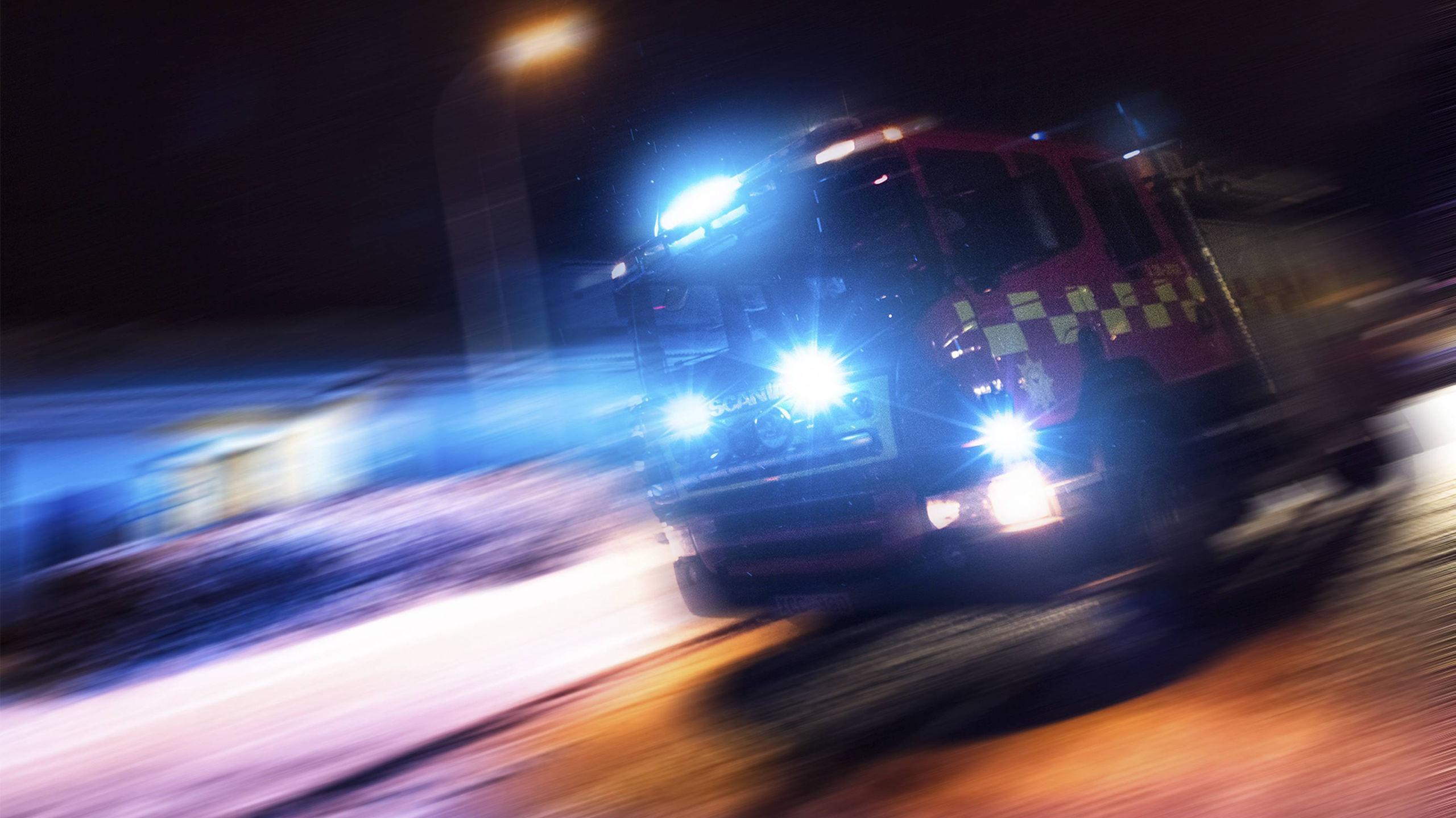 Brinnande Epa-traktor kom i rullning och antände garage utanför Järvsö