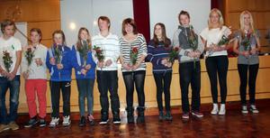 Sollefteåbor med framgångar i Svenska mästerskapen uppvaktades av kommunfullmäktige.