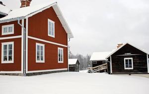 En Nordsvensk gård ett typiskt exempel på byggnadskultur i Siljansbygden.