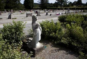 Gruskyrkogården i Ytterlännäs.