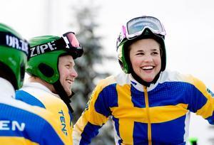 Victor Öhrling Norberg (VÖN), är också landslagsåkare i skicross och sambo med Anna sedan 1,5 år tillbaka.