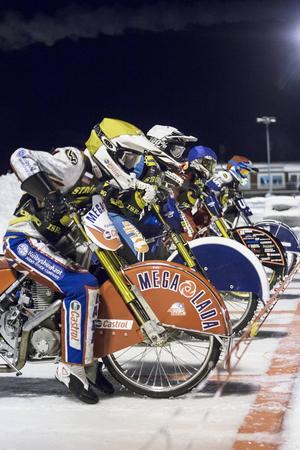 VM-semifinalstart i Strömsund i fjol. I vinter är det dags för ett nytt VM-kval, denna gång 14 januari.