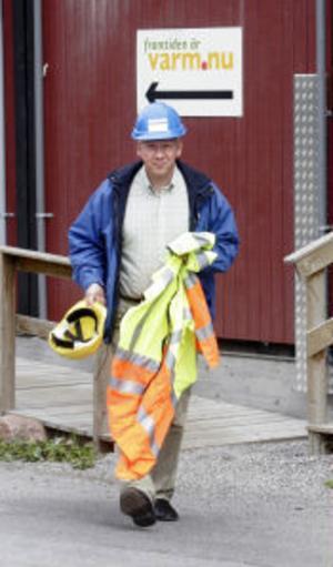 Anders Jonsson, vd för Sundsvall Energi.