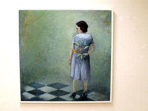 """""""Det du inte ser"""". Elin Folkesson målar kvinnas värld."""