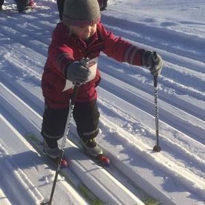 Tilda Bergström, 4 år.