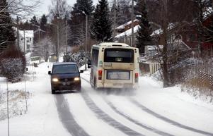Linje 74 påverkas när väg 615 stängs av på Alnö under vecka sex.