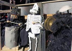 Helvetesorkestern ur Skottes musikteaters uppsättning av Faust.