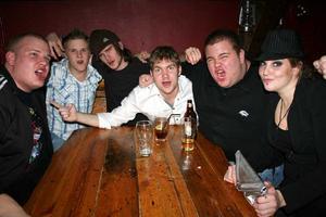Konrad. Patrik, Mika, Kristoffer, Juhu, Markus och Alex