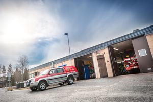 På lördagen dök endast en person upp på räddningsstationen i Grängesberg – för att visa intresse till att blir deltidsbrandman.