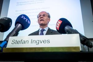 Riksbanken, inte politiker, bestämmer räntan. Bilden visar riksbankschefen Stefan Ingves. Foto: Magnus Hjalmarson Neideman / SvD / TT /