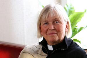 61-åriga Eva Eriksson från Frösön har utsetts till kyrkoherde i östra Jämtland. Foto: Härnösands stift