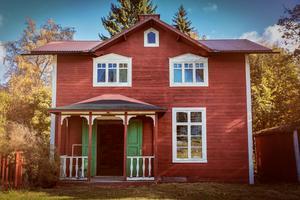 Huset är just nu till försäljning.
