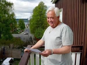Mitt i de centralare delarna av Östersund har Sune Gärdlund sitt hus. Där finns minsann inga hästar att rapportera till Jordbruksverkets omfattande undersökning.