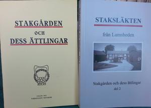 1915 kom den första boken om Staksläkten ut (till vänster) 100 år senare är uppföljaren färdig.