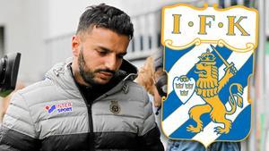 Poya Asbaghi är klar för IFK Göteborg. Bild: Jonna Igeland (Montage).