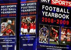 Football Yearbook, en slags årlig utkommande bibel.