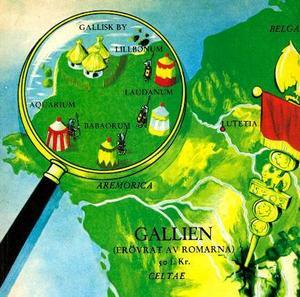 """""""Det är år 50 f Kr och hela Gallien är ockuperat av romarna... Hela Gallien? Nej!"""" Det klassiska försättsbladet till Asterixalbumen. Foto: 2008 Les Éditions Albert René /Goscinny – Uderzo"""