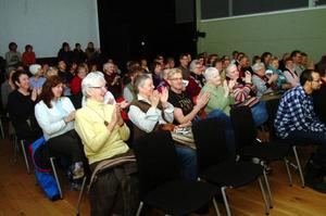 Publiken var förtjust. Applåderna ville aldrig ta slut.