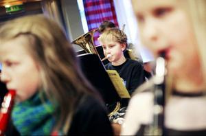 Alla instrument har sin plats i orkestern.