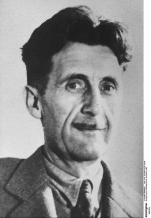 George Orwell, författare till bland annat  klassikern
