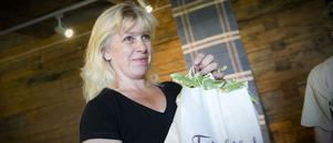 Yvonne Åhs i Delsbo, bäst i världen på hälsinge ostkaka.